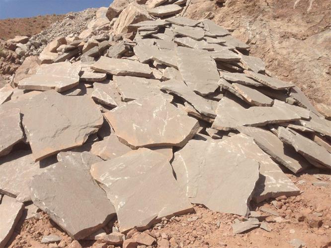 فروش انواع سنگ ورقه ای دماوند